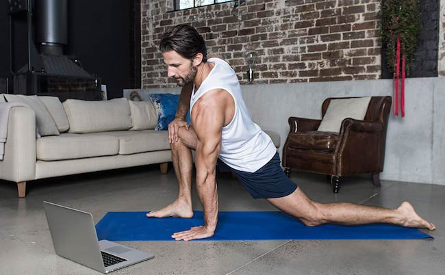 Tim Robards home workout