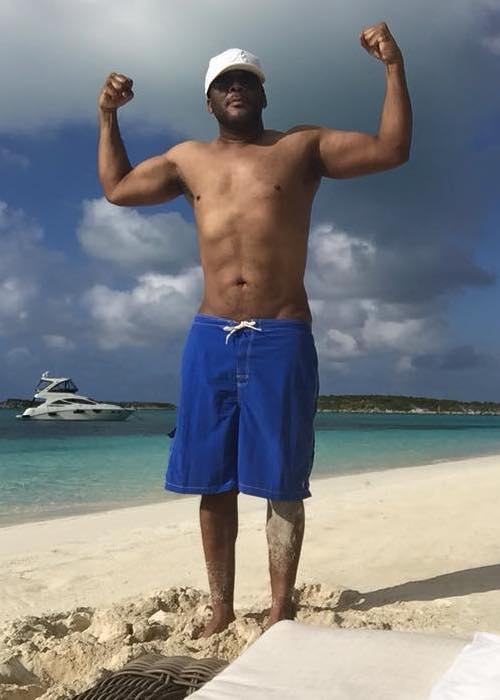 Tyler Perry shirtless picture
