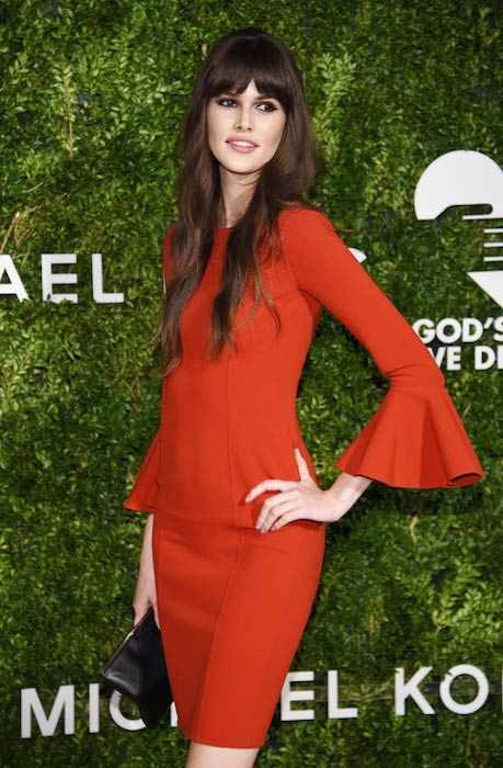 Vanessa Moody at God's Love We Deliver, Golden Heart Awards in October 2016