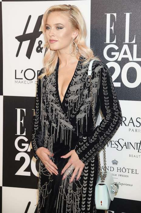 Zara Larsson at Elle Galan Event 2017