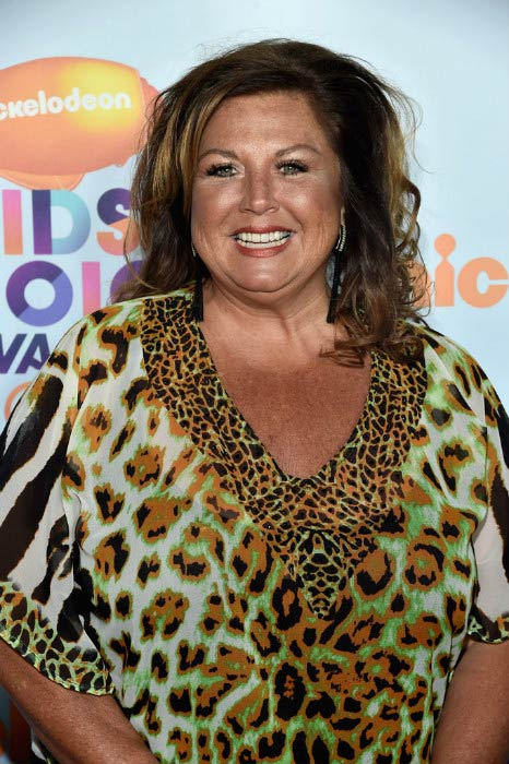 Abby Lee Miller at the Nickelodeon's Kids' Choice Awards in March 2017