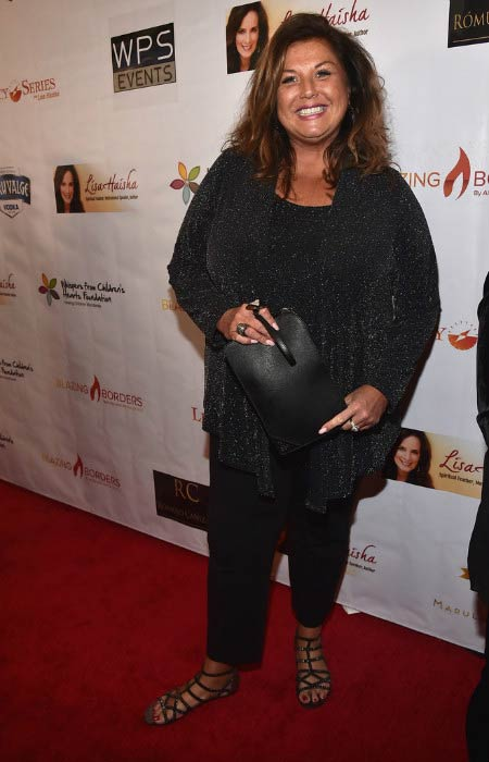 Abby Lee Miller at the Whispers From Children's Heats Foundation Legacy Charity Gala in March 2017