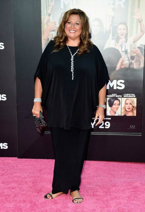 Abby Lee Miller at the premiere of STX Entertainment's Bad Moms in July 2016