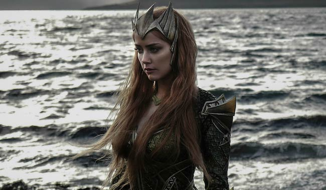 Amber Heard as Queen Mera in Aquaman