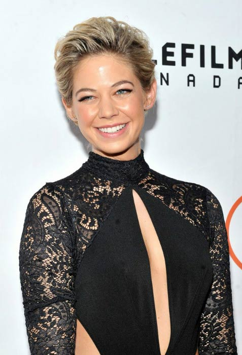"""Analeigh Tipton at the """"Mississippi Grind"""" premiere during the 2015 Toronto International Film Festival"""