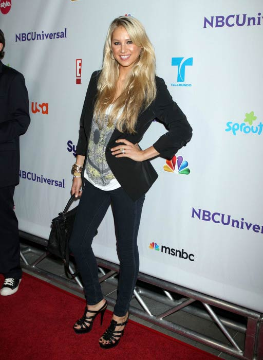 Anna Kournikova at the NBC Universal Press Tour All-Star Party in August 2011