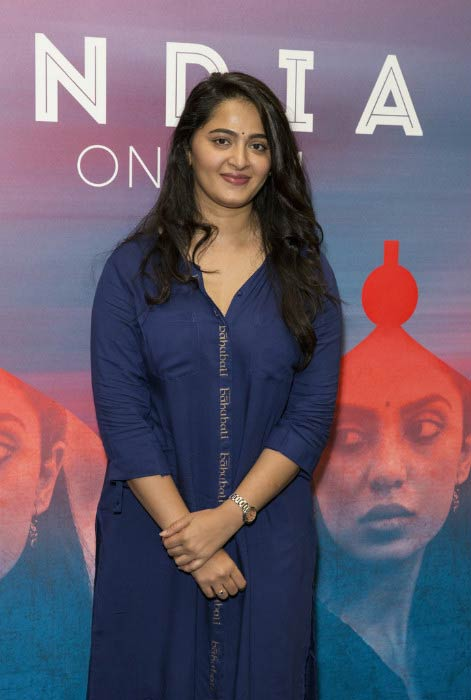 Anushka Shetty at the photocall for Baahubali: The Conclusion in May 2017 in London