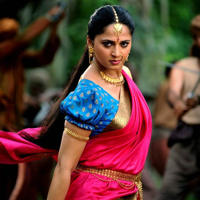 Anushka Shetty in a still from her movie Baahubali: The Conclusion (2017)