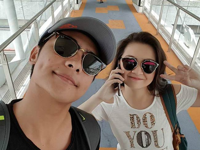Barbie Forteza and Kiko Estrada jets out for holidays in 2017