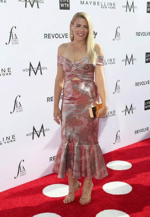 Busy Philipps at the 2017 Fashion Los Angeles Awards
