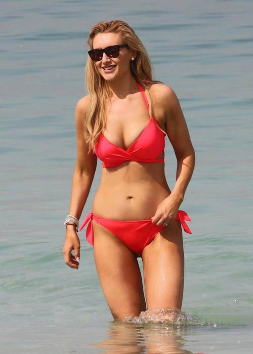 Catherine Tyldesley in bikini