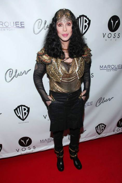 Cher at the Marquee Club in June 2013