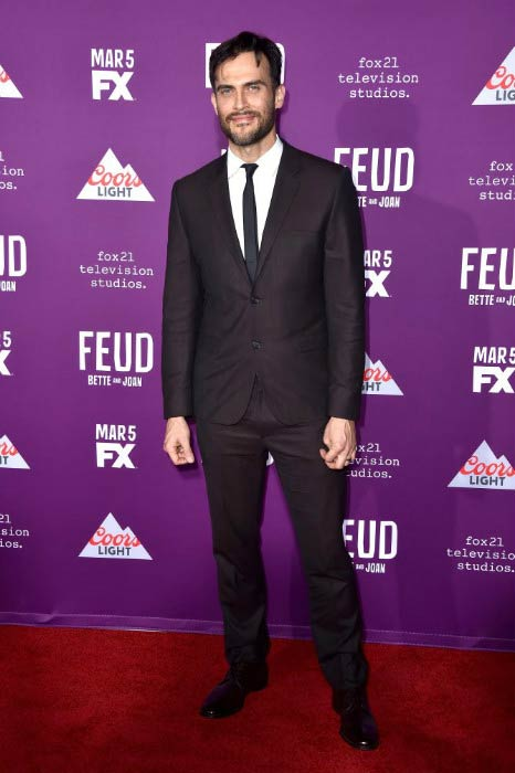 Cheyenne Jackson at the FX Network's Feud: Bette and Joan premiere in March 2016