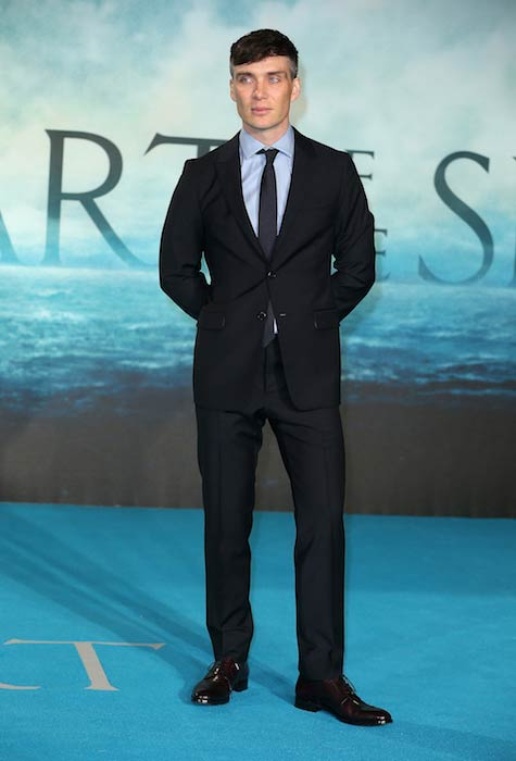 Cillian Murphy for the European premiere of In the Heart of the Sea in December 2015