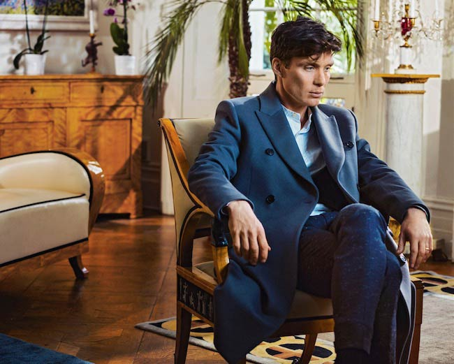Cillian Murphy in a photoshoot for Esquire UK published in May 2016