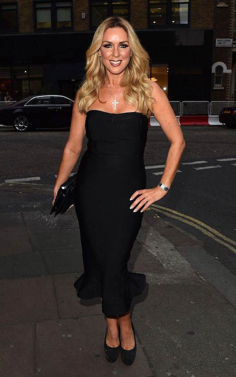Claire Sweeney Lizzie Cundy Birthday Party London May 2 2017