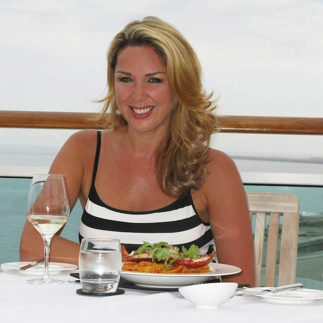Claire Sweeney now follows a healthy diet