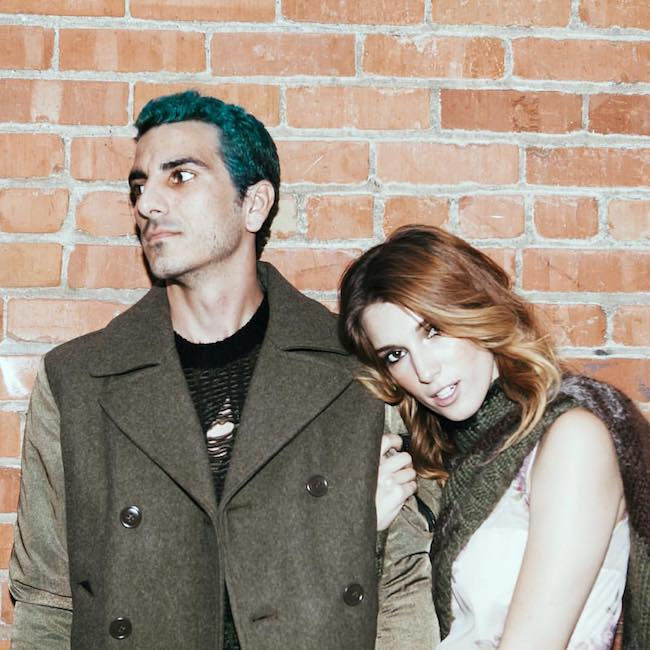 Dani Thorne with boyfriend Dylan Jetson in a photoshoot for Diesel Fall/Winter collection in October 2015