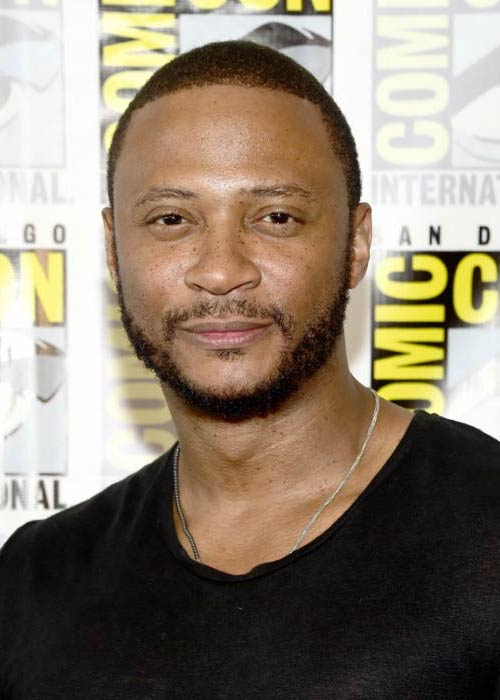 David Ramsey at the Arrow Press Line during Comic-Con International in July 2016