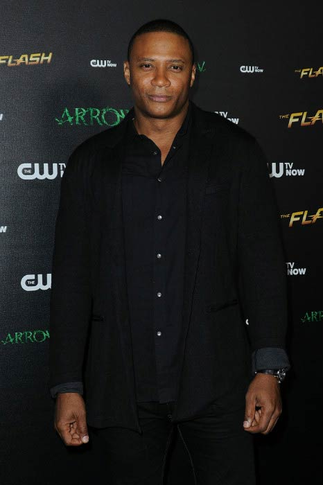 David Ramsey at the special screening for The CW's Arrow and The Flash in November 2014