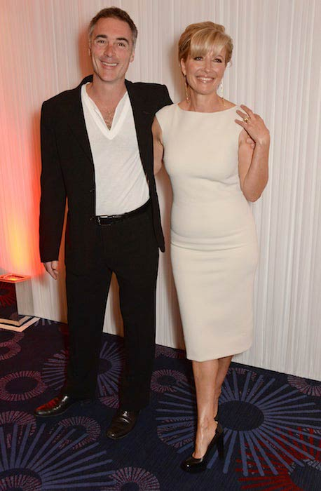 Emma Thompson with husband Greg Wise at the Jameson Empire Awards in March 2014