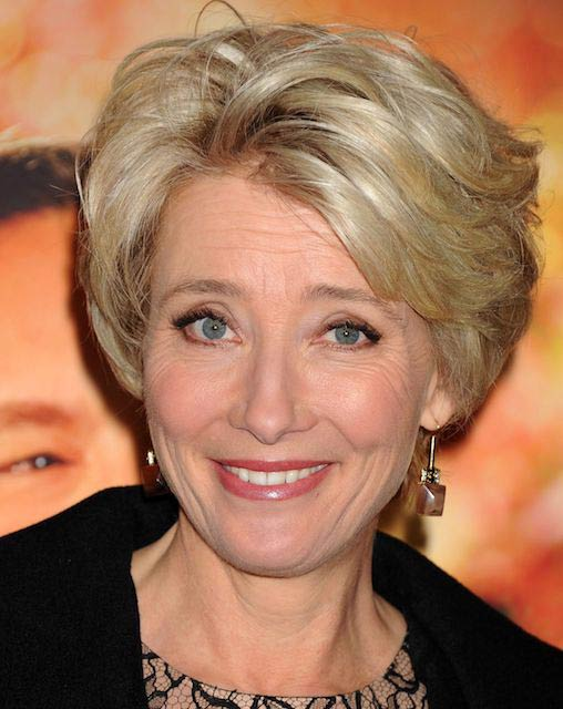 Emma Thompson at the premiere of Saving Mr Banks in California in December 2013