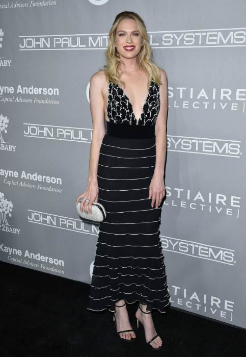 Erin Foster at the Fifth Annual Baby2Baby Gala in November 2016
