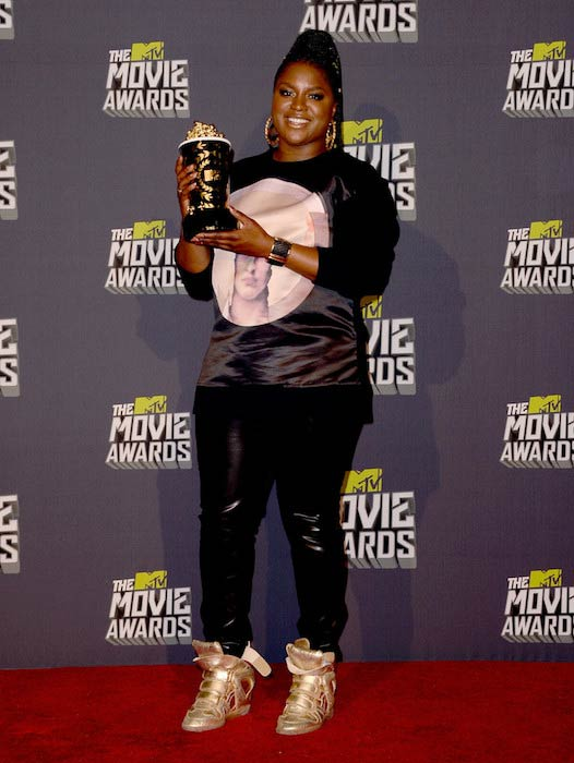 Ester Dean at 2013 MTV Movie Awards