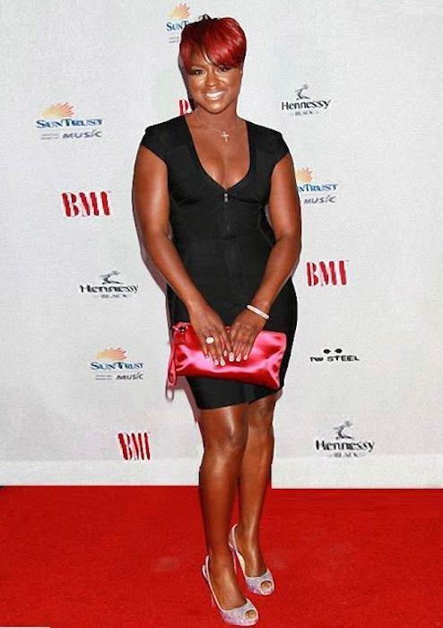 Ester Dean at the BMI Urban Awards in September 2010