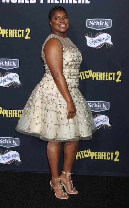 Ester Dean at the Pitch Perfect 2 premiere after party in May 2015