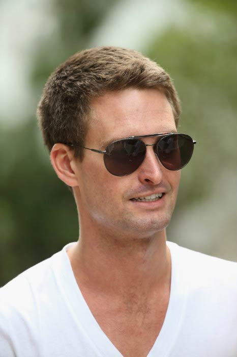 Evan Spiegel at the Allen & Company Sun Valley Conference in July 2015