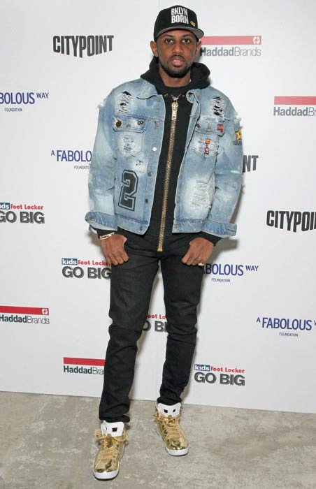 Fabolous at the BKLYN Rocks event in November 2016