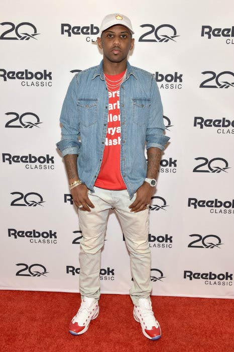 Fabolous at the Reebok X Packer Shoes launch party in September 2016
