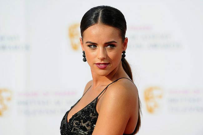 Georgia May Foote at the House Of Fraser British Academy Television Awards in May 2016