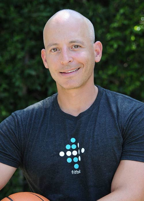 Harley Pasternak at the Fitbit Charge HR event in August 2015