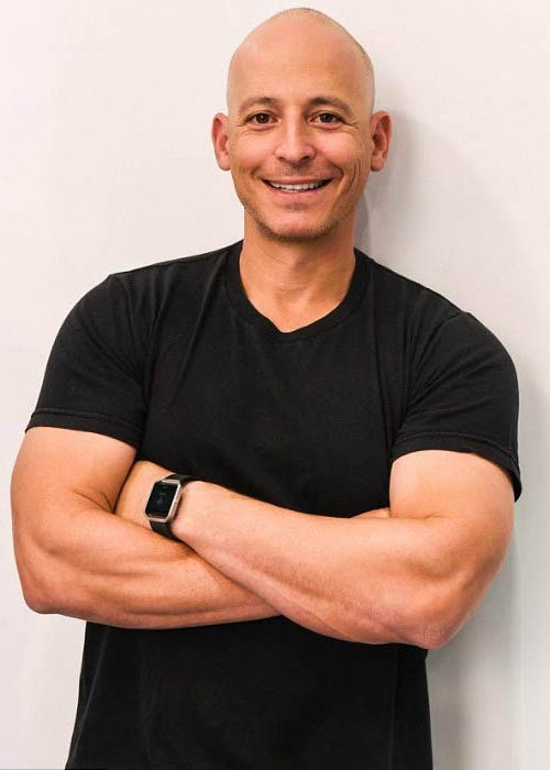 Harley Pasternak at the Fitbit watch promotion event in 2013