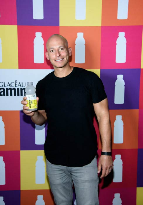 Harley Pasternak at the Hydrate The Hustle With Vitaminwater in June 2015