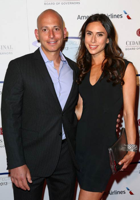 Harley Pasternak and Jessica Hirsch at the 28th Anniversary Sports Spectacular Gala in May 2013