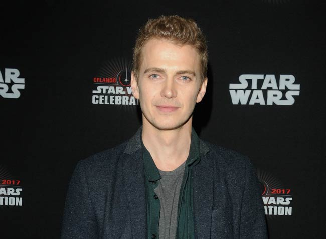 Hayden Christensen at the 40 Years of Star Wars panel in April 2017 in Orlando