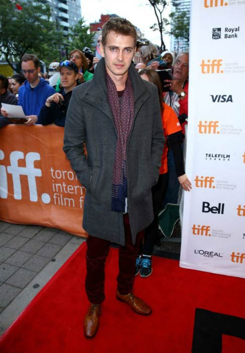 Hayden Christensen at the American Heist premiere during the 2014 Toronto International Film Festival