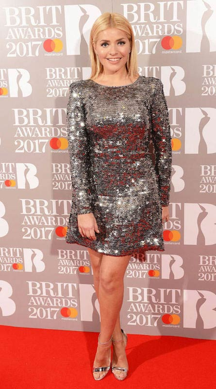 Holly Willoughby at 2017 BRIT Awards