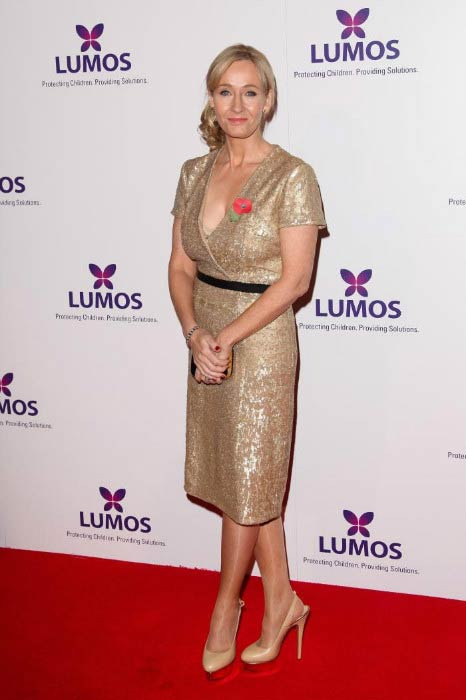 J. K. Rowling at the Fundraising Event For Charity 'Lumos' in November 2013