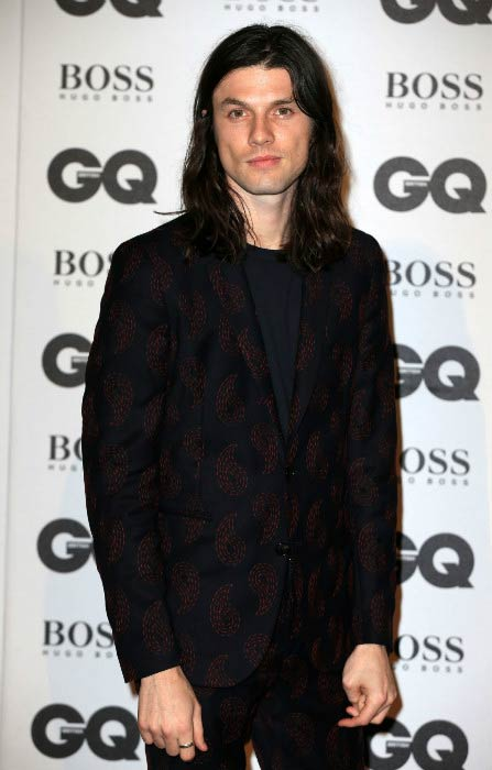 James Bay at the GQ Men Of The Year Awards in September 2016