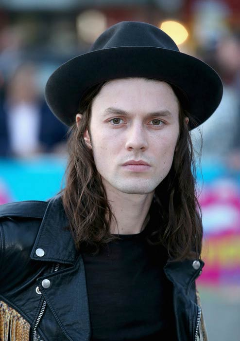 James Bay at The Rolling Stones: Exhibitionism art opening in April 2016