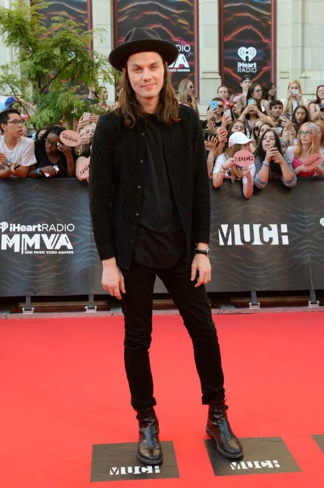James Bay at the iHeartRADIO MuchMusic Video Awards in June 2016 in Toronto