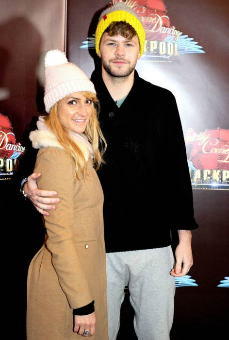 Jay McGuiness and Aliona Vilani at the special edition of Strictly Come Dancing - Strictly Blackpool in November 2015
