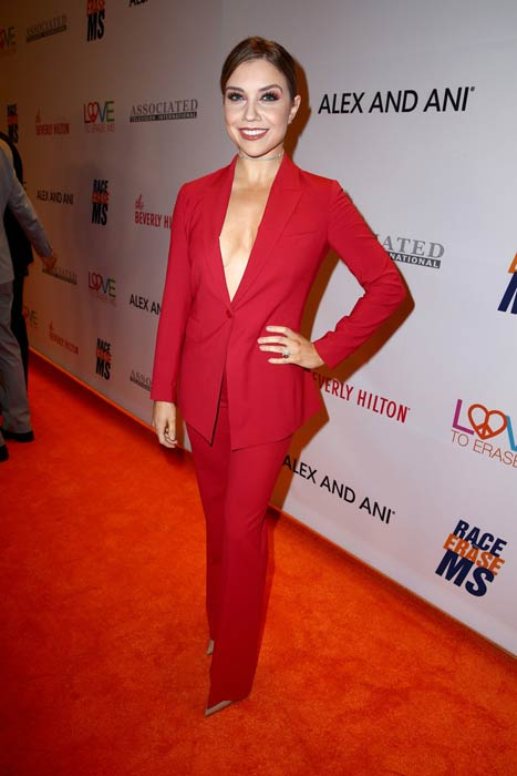 Jenna Johnson at the 24th Annual Race To Erase MS Gala in May 2017