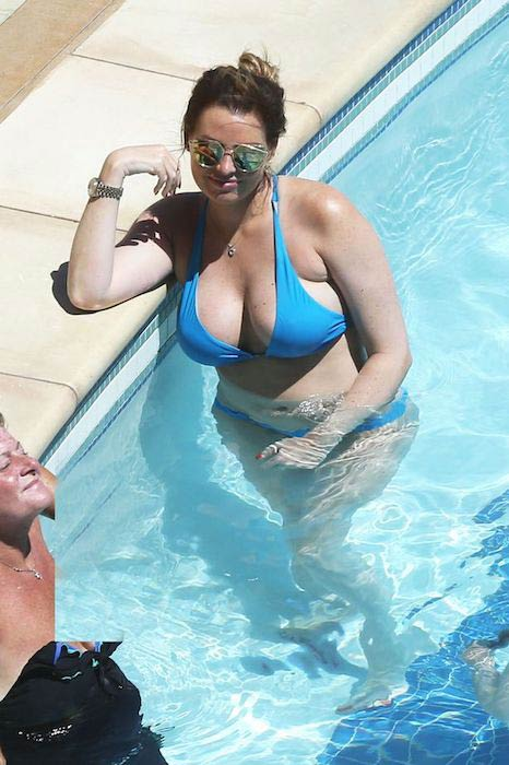 Jessica Wright before weight loss