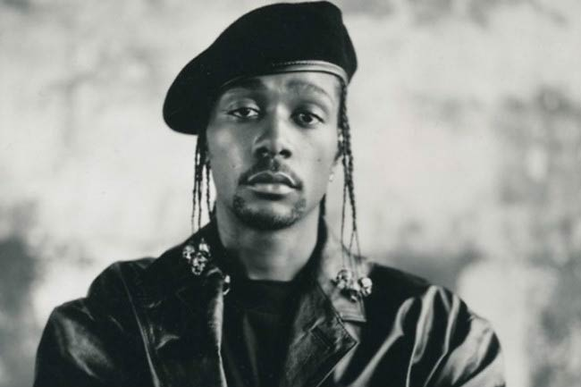 Krayzie Bone poses for a modeling photoshoot
