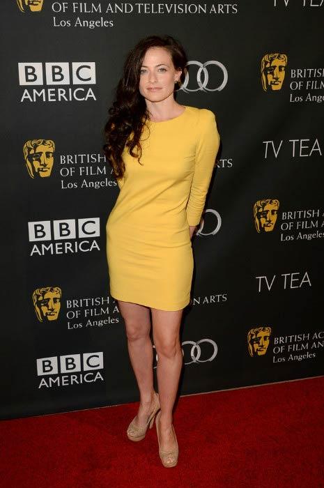 Lara Pulver at the 2013 British Academy of Film and Television Arts LA TV Tea event